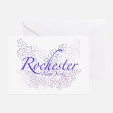 Rochester Lilacs Greeting Card