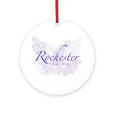 Rochester Lilacs Ornament (Round)