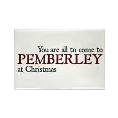 Jane Austen Pemberley Rectangle Magnet