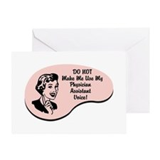Physician Assistant Voice Greeting Card