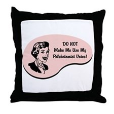 Phlebotomist Voice Throw Pillow