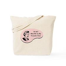 Paramedic Voice Tote Bag