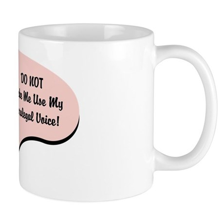 Paralegal Voice Mug