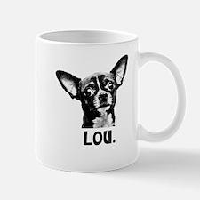 Lou Shirt Sample Mugs