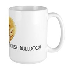 Bulldog Puppy Ceramic Mugs