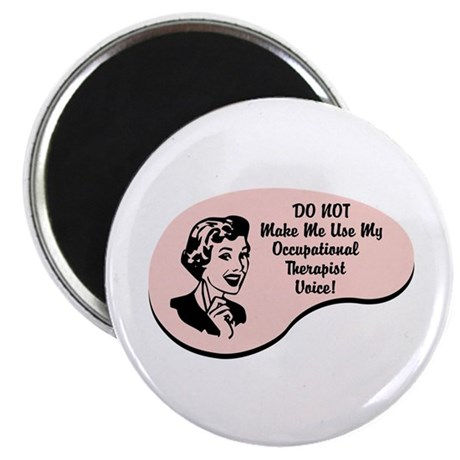 """Occupational Therapist Voice 2.25"""" Magnet (100 pac"""