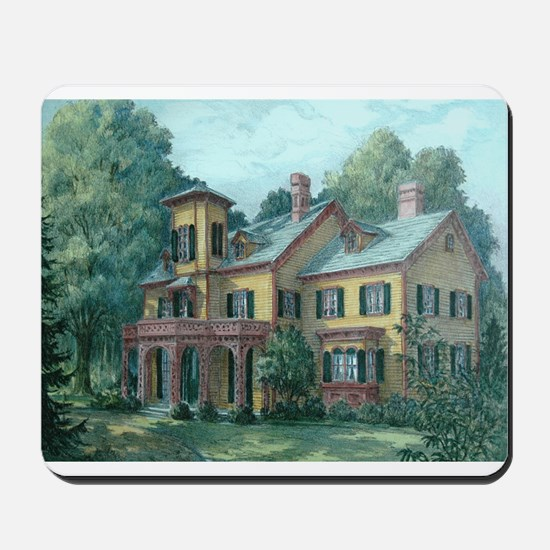 Acorn Hall - Morristown, NJ Mousepad