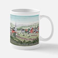 19th C. View of Morristown, N Mug