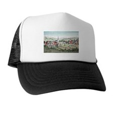 19th C. View of Morristown, N Trucker Hat