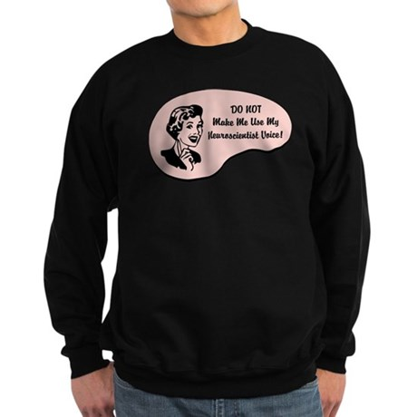 Neuroscientist Voice Sweatshirt (dark)