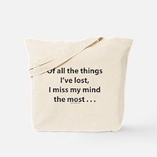 Unique Forgetful Tote Bag
