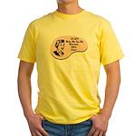 Mountain Biker Voice Yellow T-Shirt
