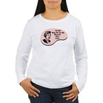 Mountain Biker Voice Women's Long Sleeve T-Shirt