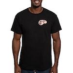 Mountain Biker Voice Men's Fitted T-Shirt (dark)