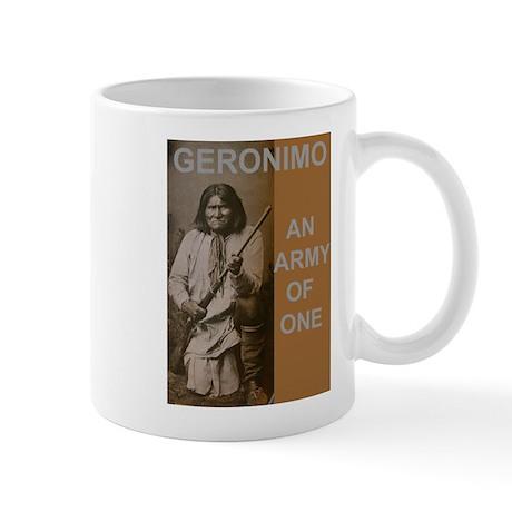 geronimo Army of One Mugs