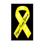 SUPPORT EMPTY GESTURES Rectangle Sticker