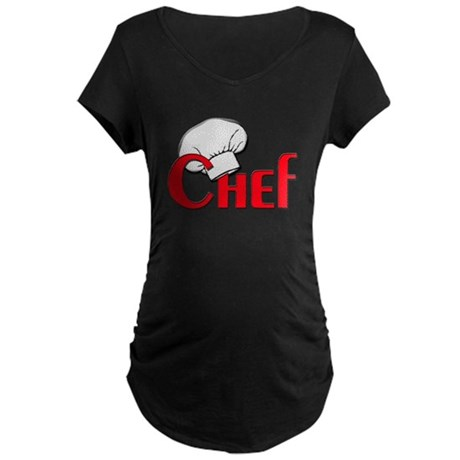 Chef Maternity Dark T-Shirt