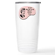 Medical Assistant Voice Travel Mug