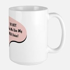 MBA Voice Large Mug