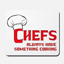 Chefs Cooking Mousepad