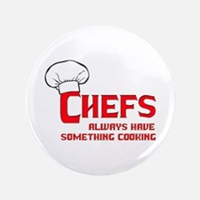 """Chefs Cooking 3.5"""" Button"""