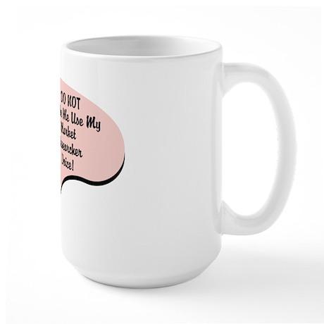 Market Researcher Voice Large Mug