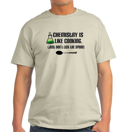 Chemistry Cooking Light T-Shirt