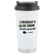 Chemistry Cooking Stainless Steel Travel Mug