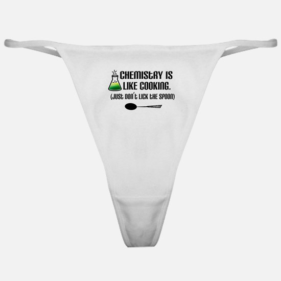 Chemistry Cooking Classic Thong
