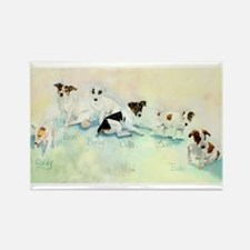 The Jack Russells Rectangle Magnet