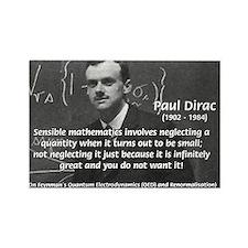 Paul Dirac Quantum Theory Rectangle Magnet