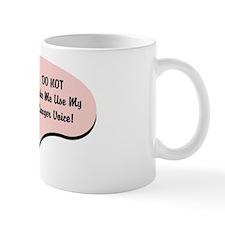 Lawyer Voice Small Mugs
