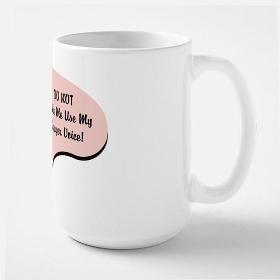 Lawyer Voice Large Mug