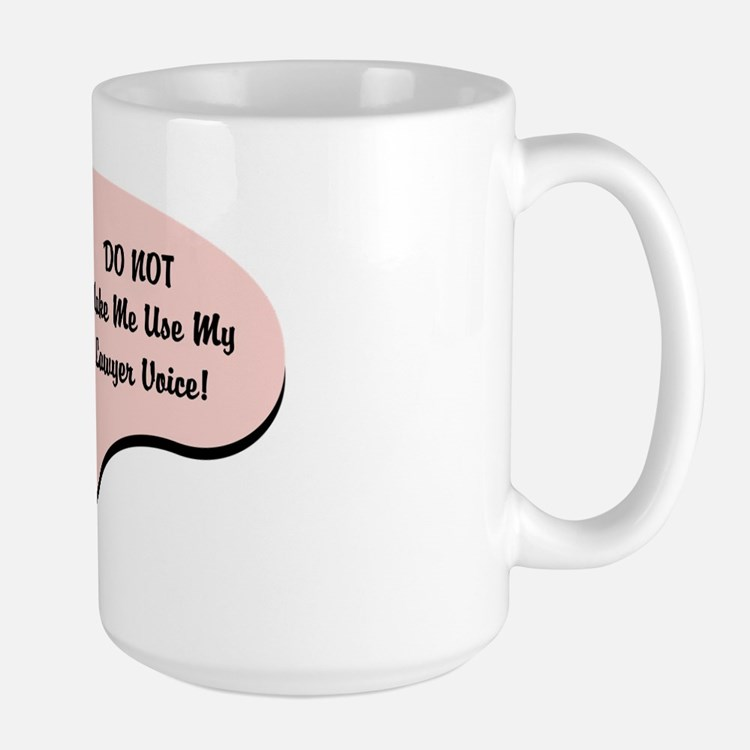 Lawyer Voice Mug