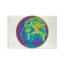 Labradoodle - Rectangle Magnet