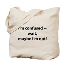 Unique Funny confused Tote Bag