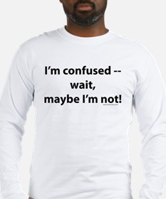 confused Long Sleeve T-Shirt