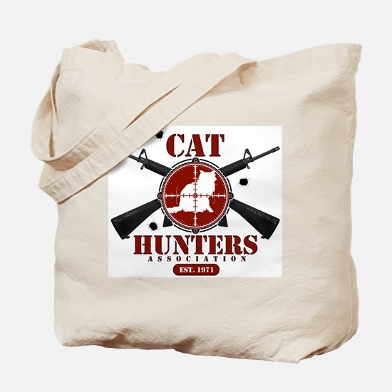 Cat Hunters Association Tote Bag