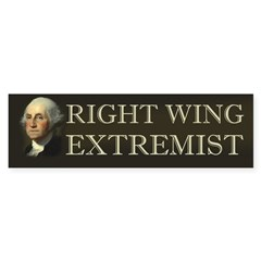 George Washington Right Wing Bumper Bumper Sticker