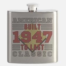Unique 70th Flask