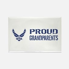 USAF: Proud Grandparents Rectangle Magnet