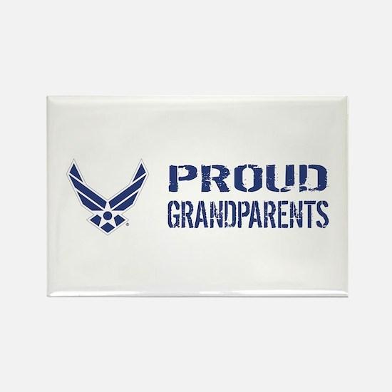 USAF: Proud Grandparents Rectangle Magnet