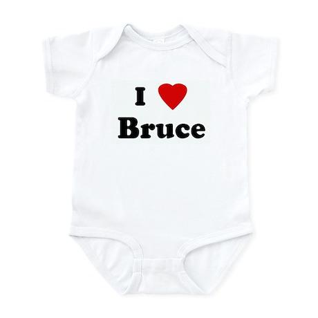 I Love Bruce Infant Bodysuit