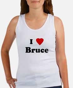 I Love Bruce Women's Tank Top