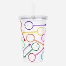 Cute Old style Acrylic Double-wall Tumbler