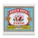 Vintage Syrup Label Tile Coaster