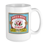 Vintage Syrup Label Large Mug