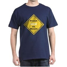 Proud Nani on Board T-Shirt