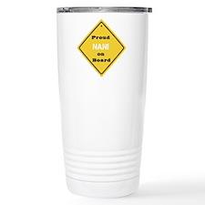 Proud Nani on Board Travel Coffee Mug