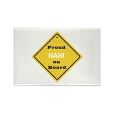 Proud Nani on Board Rectangle Magnet